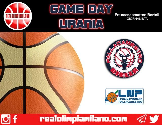 Biella vs Urania Wildcats  | In campo alle ore 18 al BiellaForum