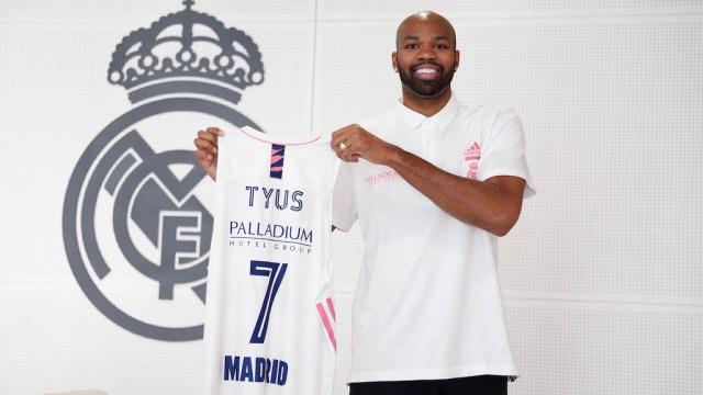 Alex Tyus Real Madrid