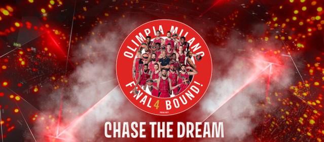 Olimpia Milano celebra le Final Four con il film «Chase the Dream»