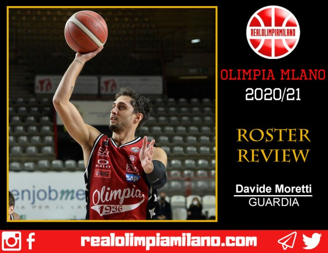 Olimpia, cosa resta della stagione 2020/21: Davide Moretti