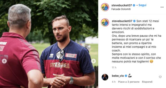 Stefano Tonut riparte con la Reyer: Nessuno potrà mai togliermi il sorriso