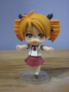 Miharu running figure
