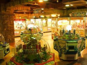 Average Japanese arcade.