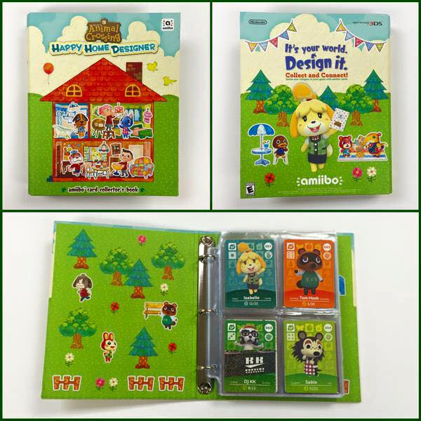 Here is the Animal Crossing Binder we are Giving away!