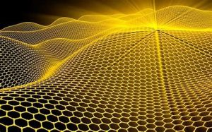 graphic depicting a single layer one atom thick