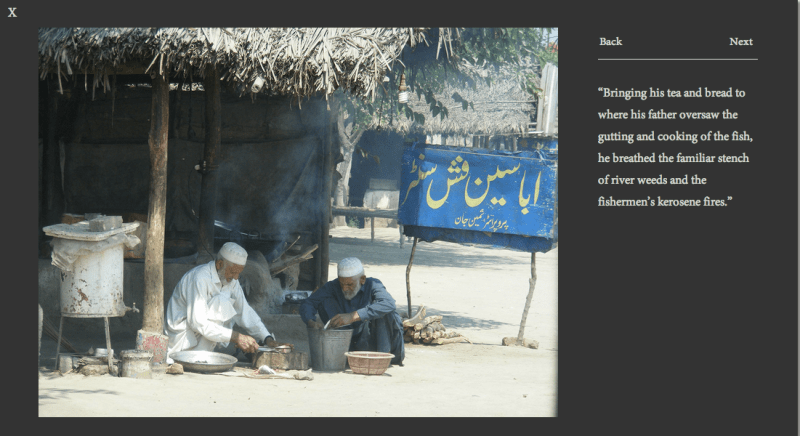 A photograph taken in Pakistan that inspired a scene in A SISTER TO HONOR