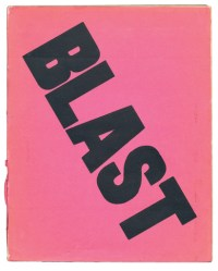 front cover of first BLAST issue