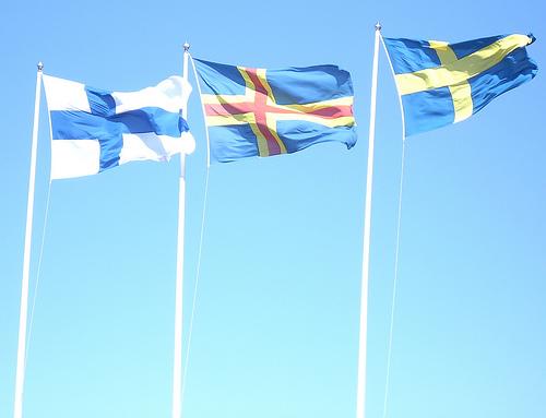 scandinavian flag photo
