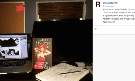 Instagrams from the New Literary Community