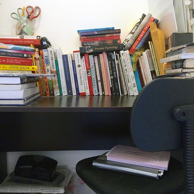 desk of sarah gerard
