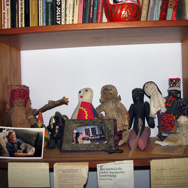 Peggy Shinner's desk