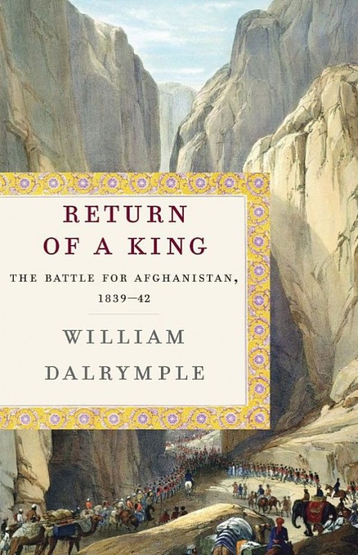 Filosofia on the cover of William Dalrymple's Return of a King