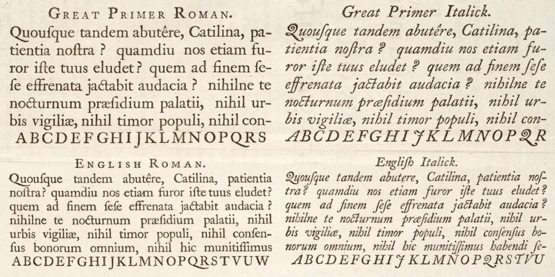 Ripoffs & Revivals -- Choosing a Book Font in the Cybernated Age