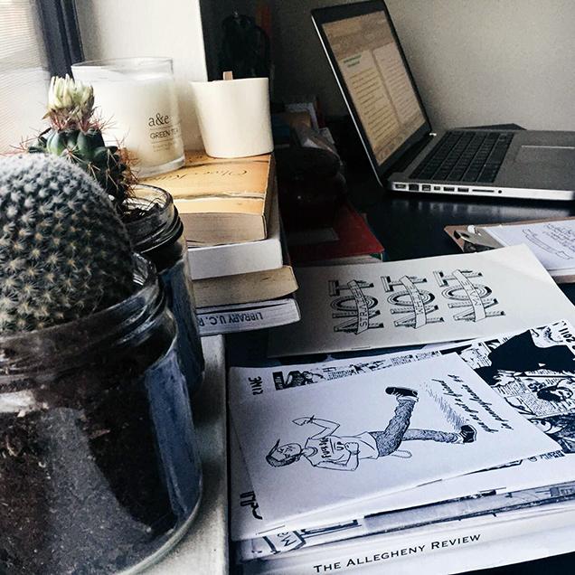 the desk of Rachel Charlene Lewis