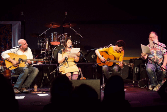 Ames Poetry Revival, Photo by Paul Doffing