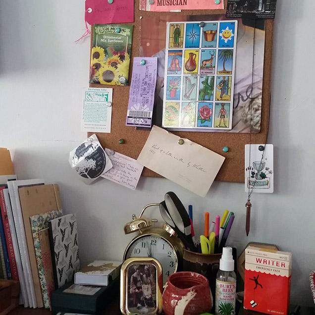 Sarah Green's Desk