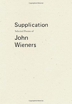 John Wieners Supplication Cover