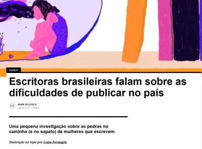 screenshot of original article on VICE Brasil