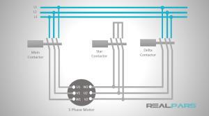 Star Delta Starter PLC Program and Wiring  Part 1