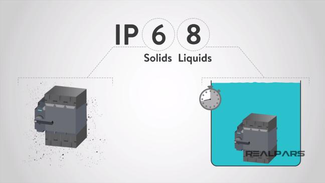مثال عن جهاز بتصنيف IP68.