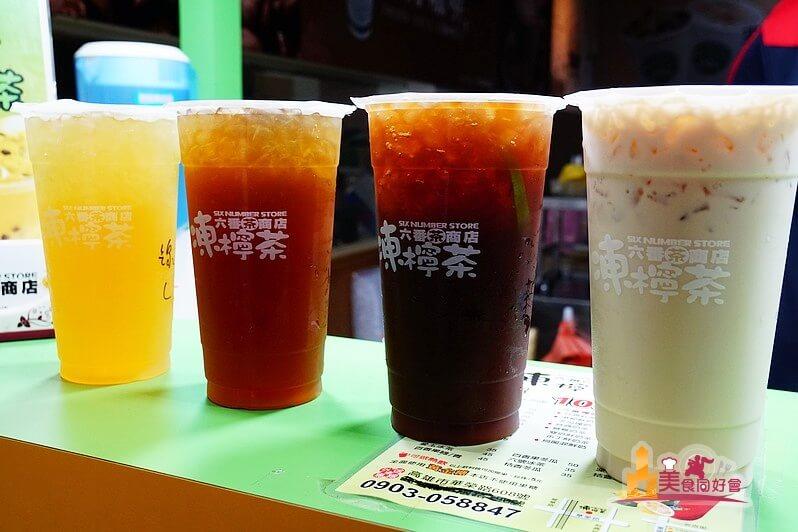 【高雄手搖飲料】六番茶商店 (華榮店) 清爽酸甜風味港式手搖飲料凍檸茶