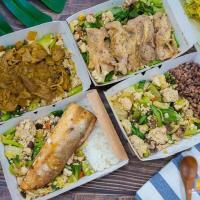 【高雄便當】艾波廚房 全台首創豆腐飯 新健康飲食高纖低醣高蛋白質料理餐盒