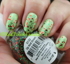 Broadway Nails - Where's Nemo & Up And Down with Comparison with China Glaze - Party Hearty