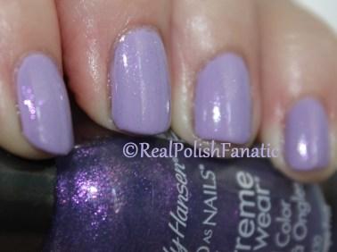 Sally Hansen Xtreme Wear - Lacey Lilac & Pink Grape Fruit