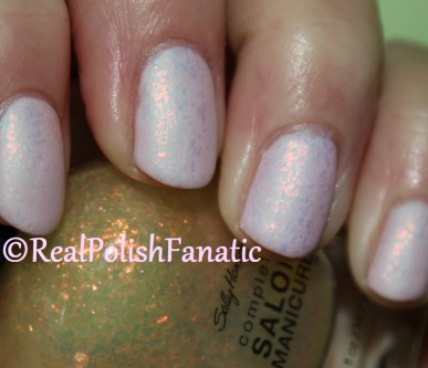Quo by Orly - Always Chic AKA Orly Beautifully Bizarre with Sally Hansen Hidden Treasure and Essie Shine Of The Times
