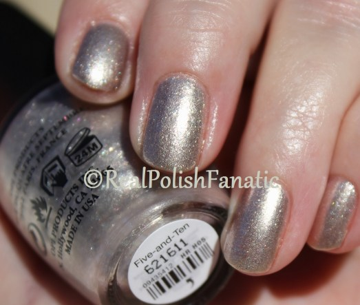 OPI - Five-and-Ten // Holiday 2016 Breakfast at Tiffany's Collection