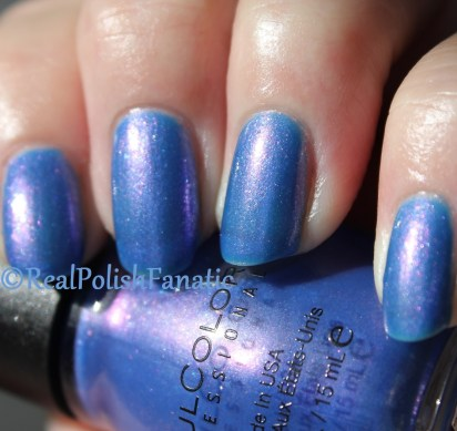 Sinful Colors - Peri-Twinkle // Holiday 2016 Bow-lieve In Magic Collection