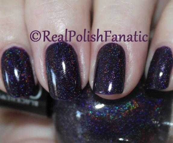 Blackheart Beauty - Dark Purple Galaxy