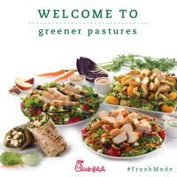 Chick-fil-A Wraps their Menu with #FreshMade Salads