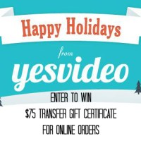 Happy Holidays! Cherish Memories with YesVideo + Giveaway