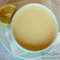 Recipe: Egg and Lemon Soup from Albania