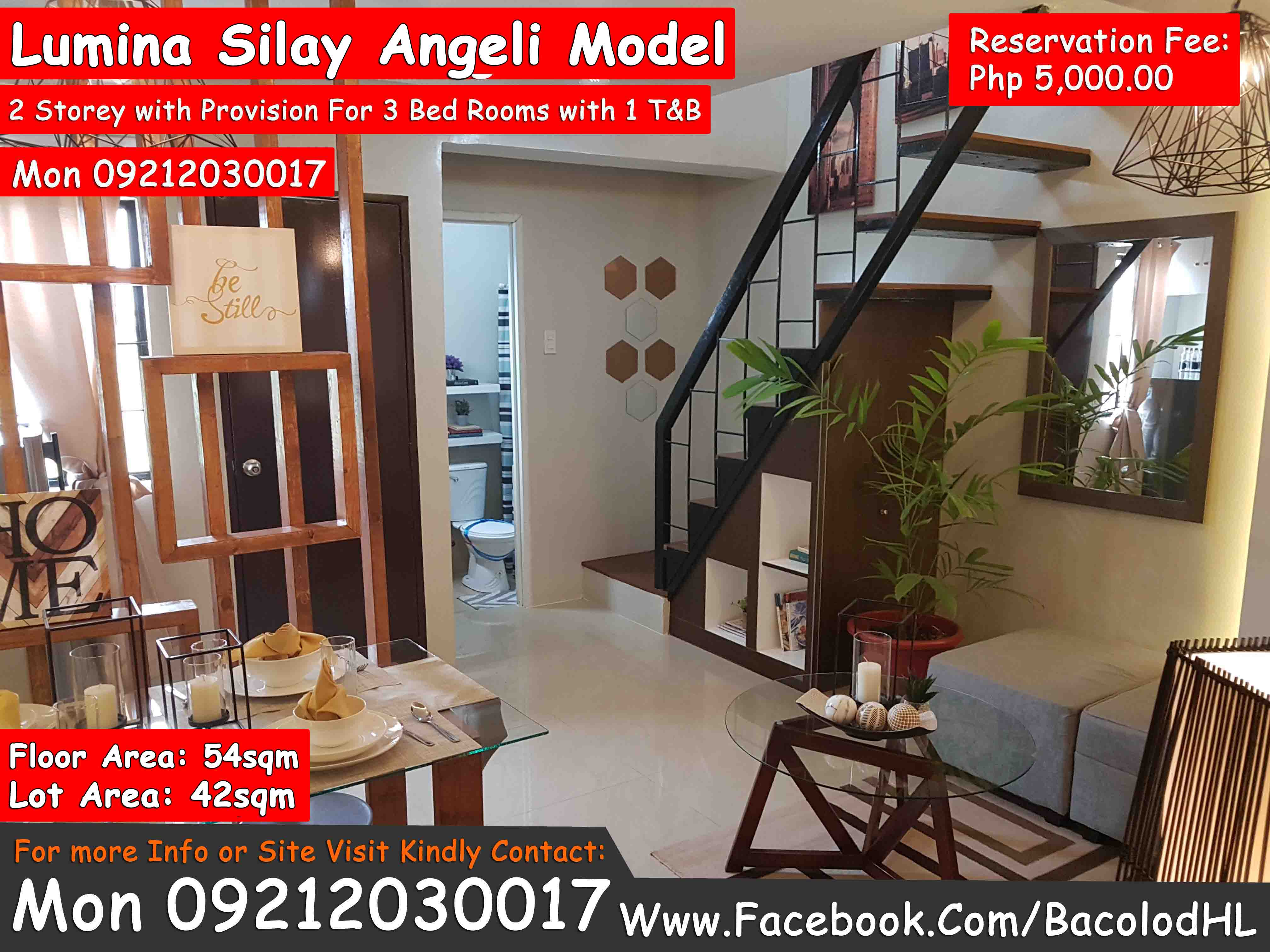 Silay Lumina Angeli Duplex Bacolod House Amp Lot For Sale