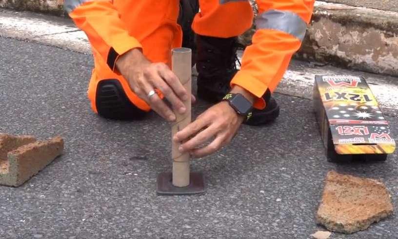 Corpo de Bombeiros Militar de Minas Gerais explica como utilizar os pirotécnicos sem riscos