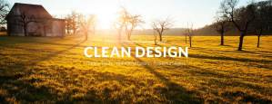 clean design panel