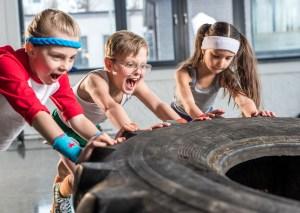 Gym with kids training program near me