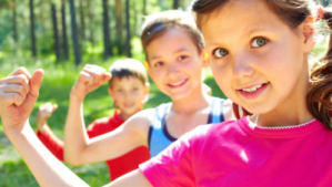 live healthy lifestyle at a young age with kid workouts