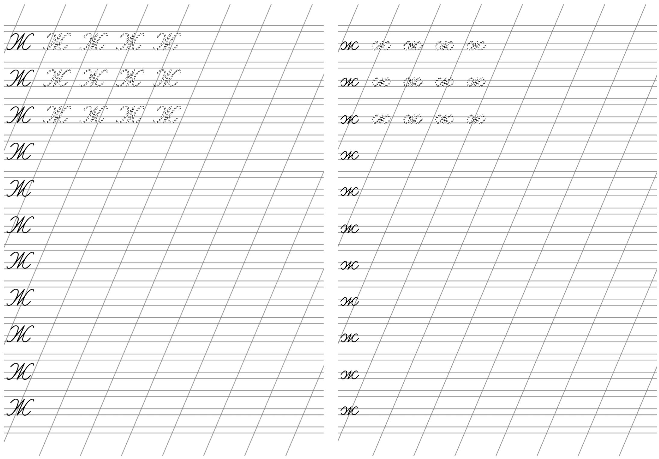 Great Russian Handwriting Worksheet Russian Cursive
