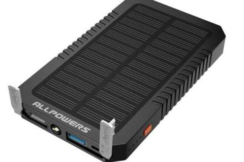 Permalink to: ALLPOWERS 12000mAh Portable Solar Charger Review