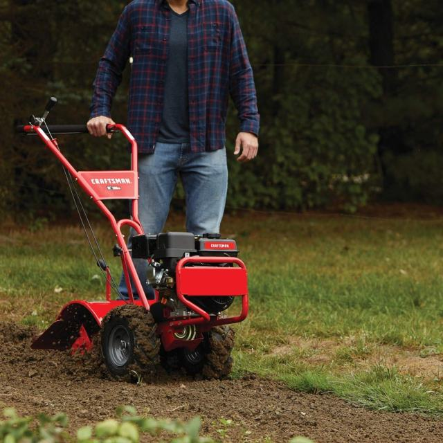 Craftsman 208CC 16-in RT tiller review