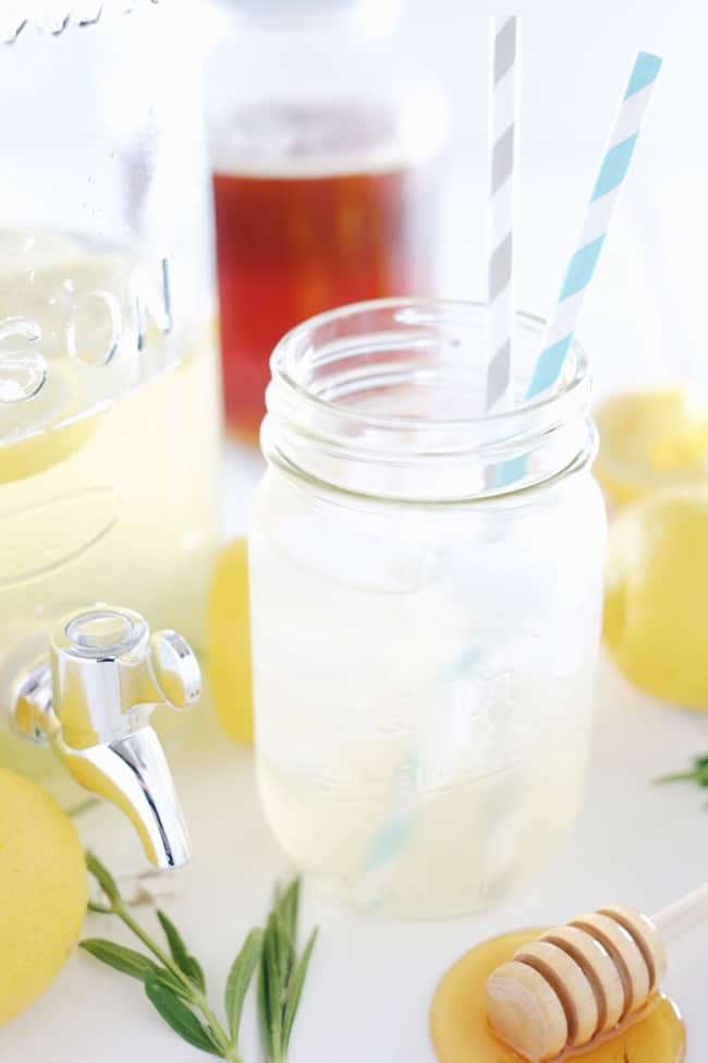 Sipping this homemade honey lavender lemonade out on your patio or porch is the perfect way to spend a summer afternoon or evening. Refined Sugar-Free.   realsimplegood.com