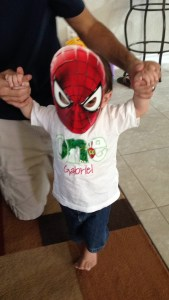 see? this is what we get. spiderkid.
