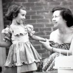 Margaret with my mom as a little girl!