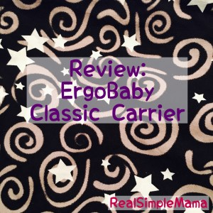 Review: ErgoBaby Classic Carrier - RealSimpleMama