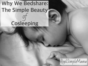 safe sleep baby bedshare cosleep