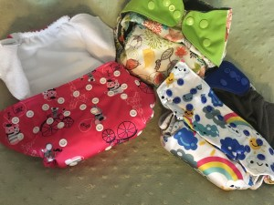 EcoAble AIO cloth diaper fluff - Real Simple Mama Review: AIO All-in-One Cloth Diaper Comparison! - Real Simple Mama