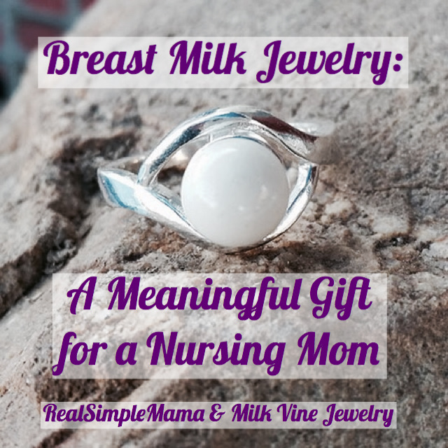 Breast Milk Jewelry: A Meaningful Gift for a Nursing Mom